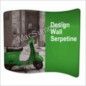 Beurwand design wall Serpetine