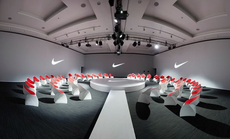Customized Flux Chairs for Nike