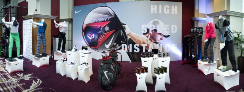 Customized Flux products for Nike Golf